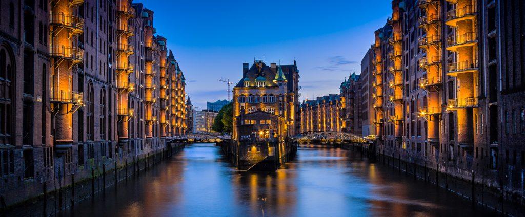 Hamburg, Standort der Kanzlei Dr. Zhao